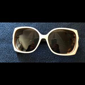 Karl Lagerfeld sunglasses in White